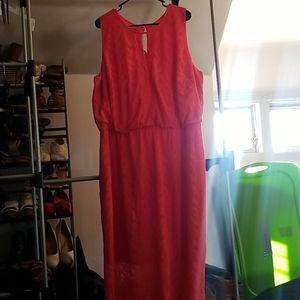 Medaphor by Lane Bryant Maxi Dress